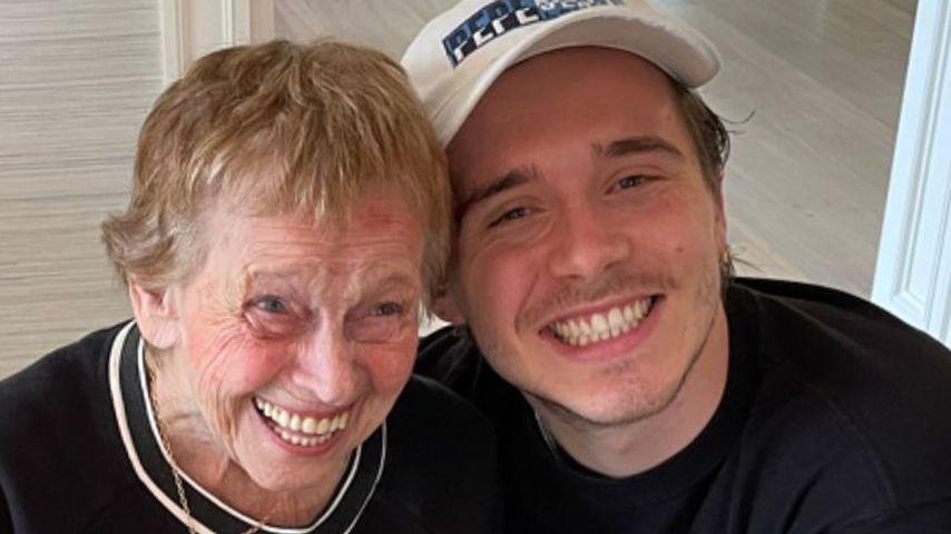 Brooklyn Beckham mit einer unbekannten Dame