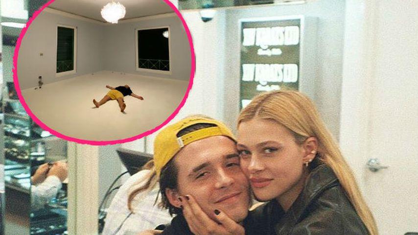 Sind Brooklyn Beckham und Nicola in ein neues Haus gezogen?