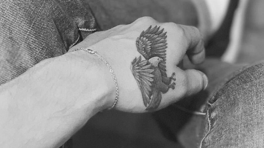 Brooklyn Beckhams Hand-Tattoo