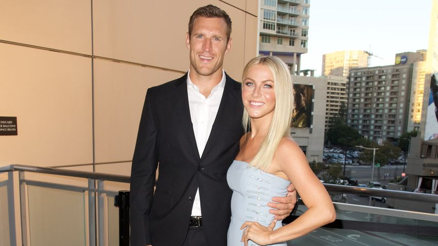 Brooks Laich und Julianne Hough im September 2016