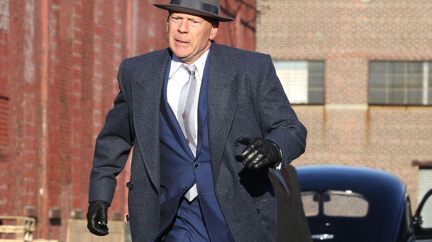 """Bruce Willis am Set von """"Motherless Brooklyn"""""""