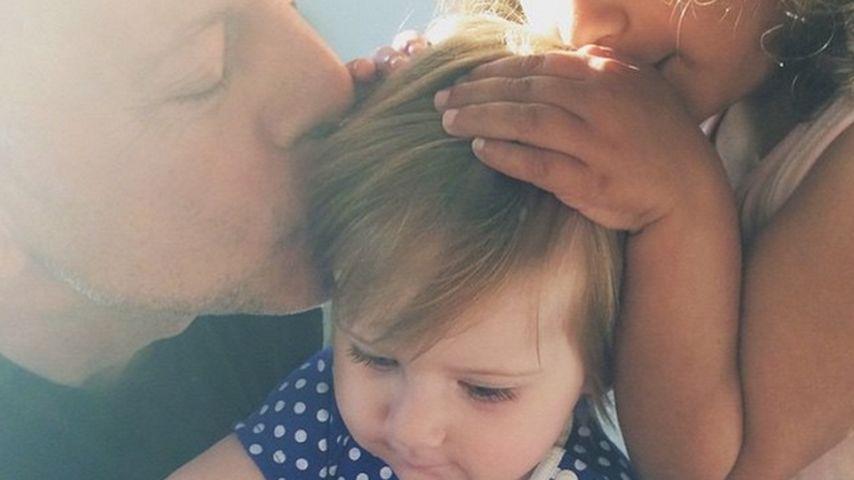 Süßer Birthday-Knutscher: Bruce Willis' Baby-Girl wird 1!