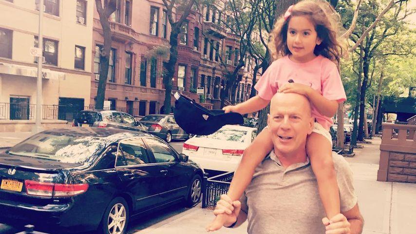 Bruce Willis' Tochter Mabel (4): Schon jetzt ein Superstar
