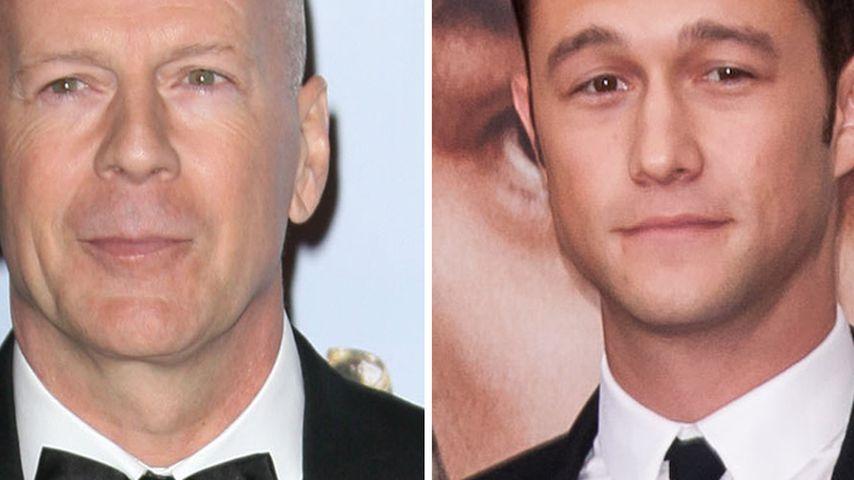 Joseph Gordon-Levitt spielt Bruce Willis