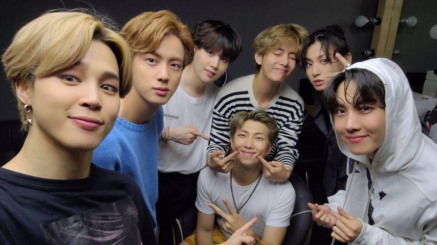 K-Pop-Gruppe BTS im September 2020