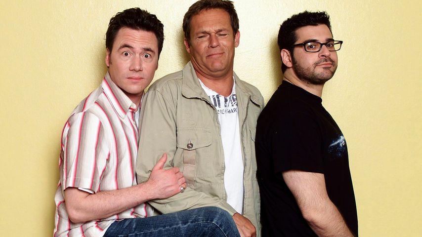 Michael Bully Herbig, Christian Tramitz und Rick Cavanian (v.l.)