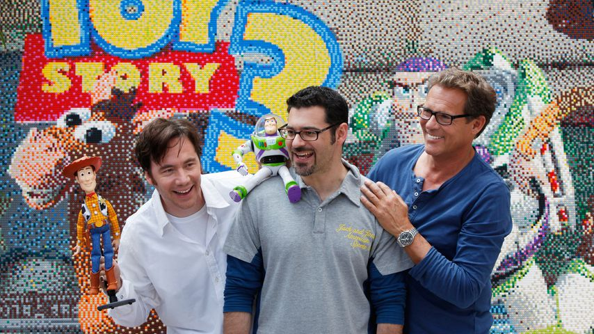 "Bully Herbig, Rick Kavanian und Christian Tramitz beim Photocall für ""Toy Story 3"""