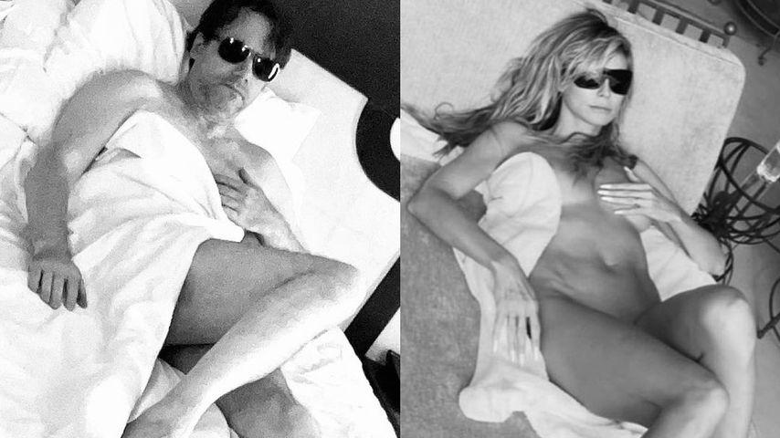 """Hotshots"": Bully Herbig stellt Heidi Klums Nacktbild nach"