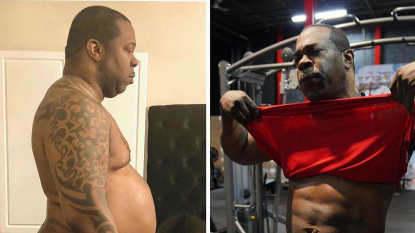 Busta Rhymes vor und nach seiner Fitness-Transformation