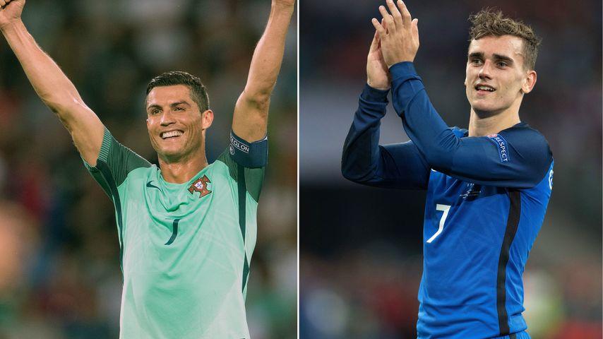 Ronaldo vs. Griezmann: Wer schießt sein Land zum EM-Sieg?