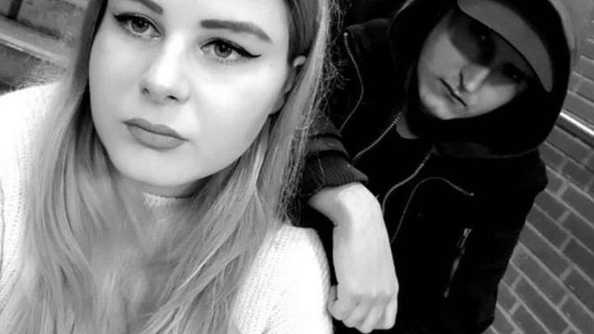 Calantha Wollny und ihr Freund Mason