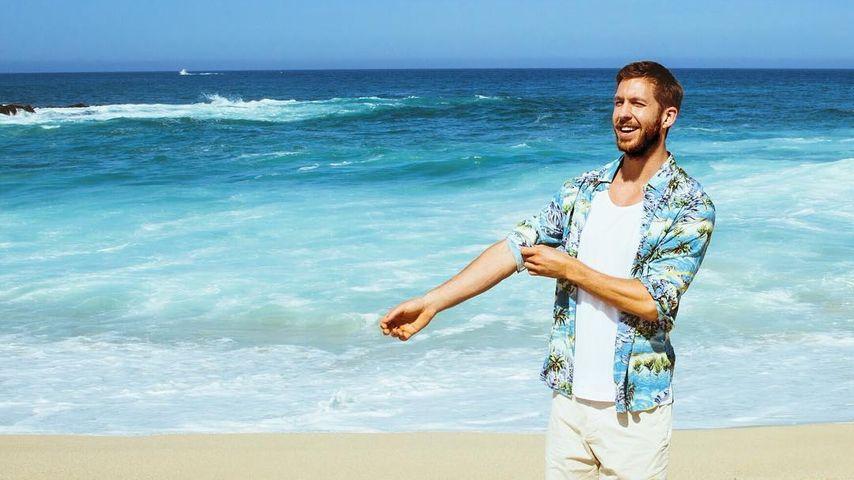 Calvin Harris im Urlaub