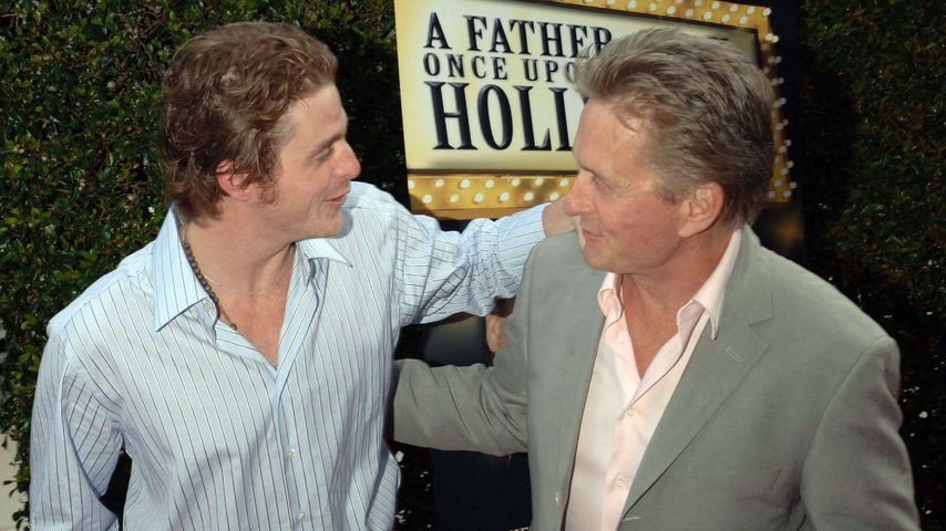 Cameron und Michael Douglas