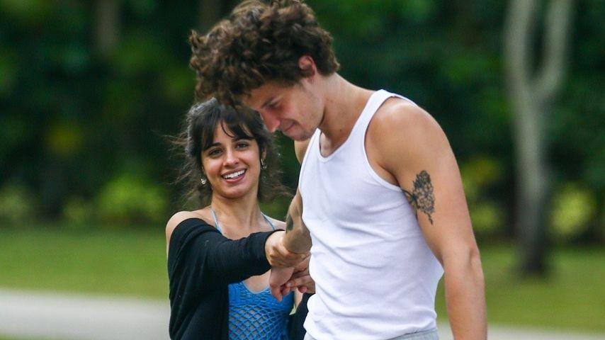 Camila Cabello und Shawn Mendes im März 2020