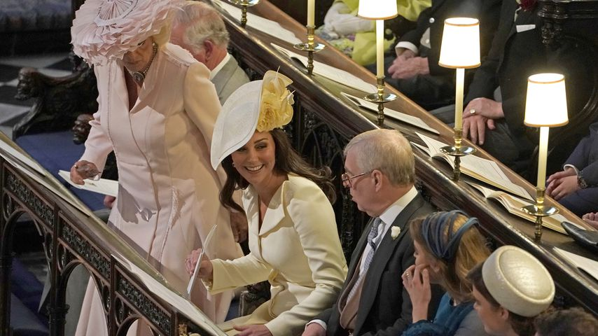 Camilla Parker Bowles und Herzogin Kate bei der Hochzeit von Herzogin Meghan und Prinz Harry