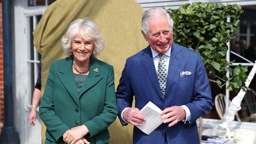 So feierten Prinz Charles und Camilla ihren 14. Hochzeitstag