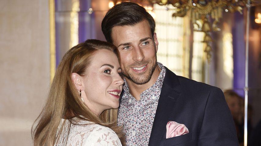 """Caona und Leonard Freier bei der Premiere des Musical """"Mamma Mia!"""""""