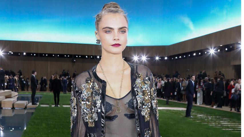 Cara Delevingne: Pinkel-Panne bei Karl Lagerfeld!