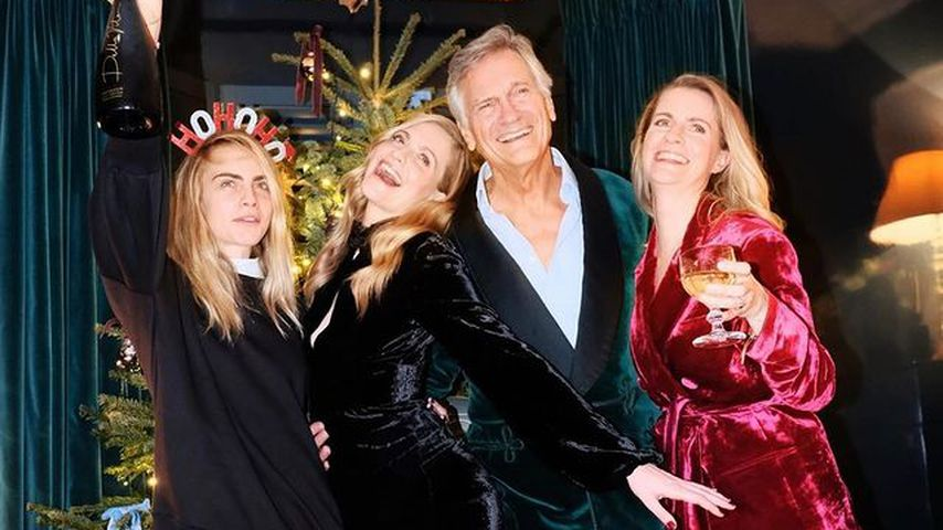 Das ist die hübsche Familie von Model Cara Delevingne!