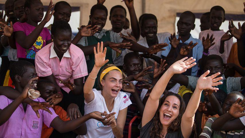 Cara Delevingne in Uganda: Veränderte diese Reise ihr Leben?