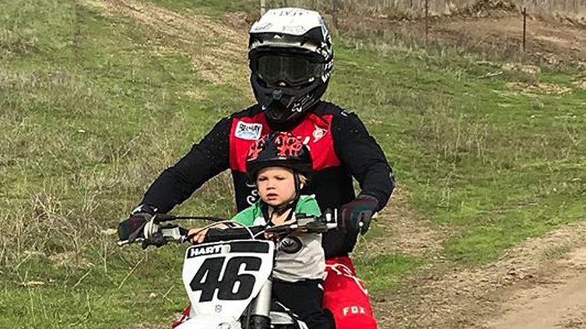 Carey Hart und sein Sohn Jameson Moon