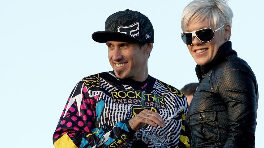 Carey Hart und Pink im Mai 2009