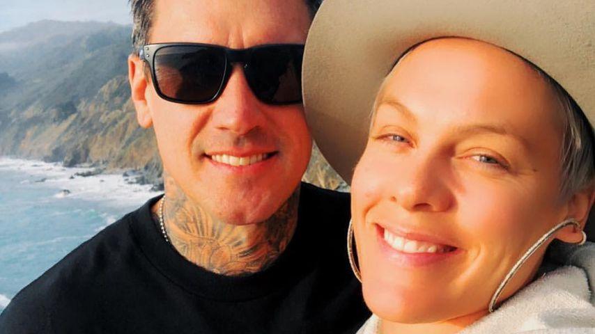 Zum 13. Hochzeitstag: Carey Harts süße Worte an Ehefrau Pink