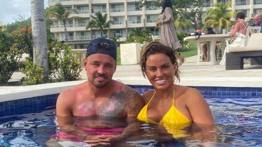 Carl Woods und Katie Price