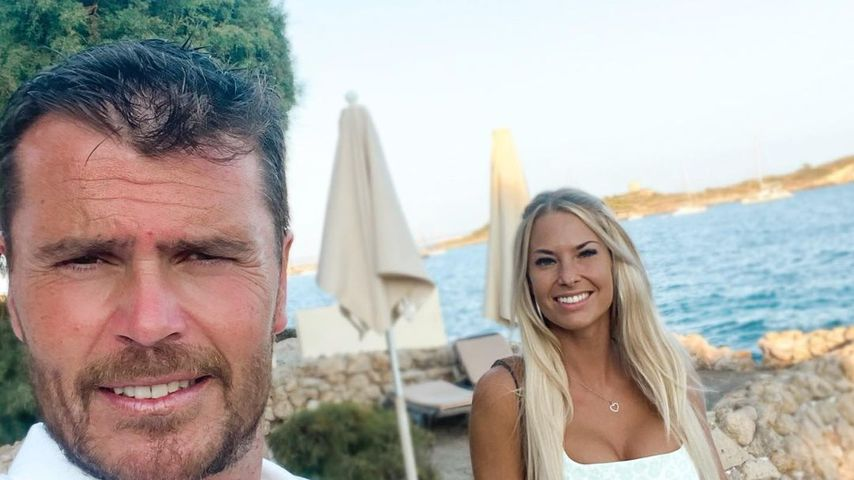Isabel Glück mit ihrem Ehemann Carlos im Juli 2021