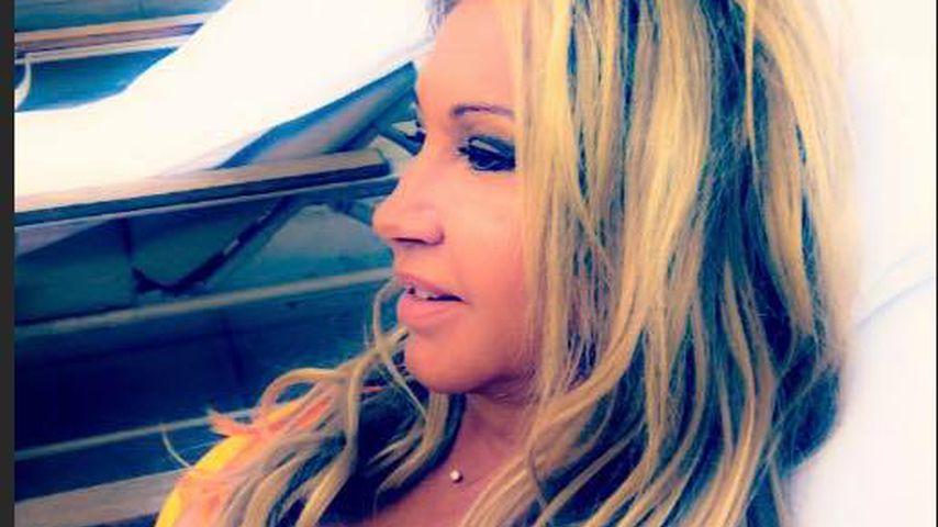 Sideboob-Alarm: Carmen Geiss postet sexy Badeanzug-Selfie