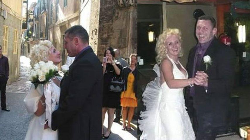 Caro und Andreas Robens auf ihrer Hochzeit 2010