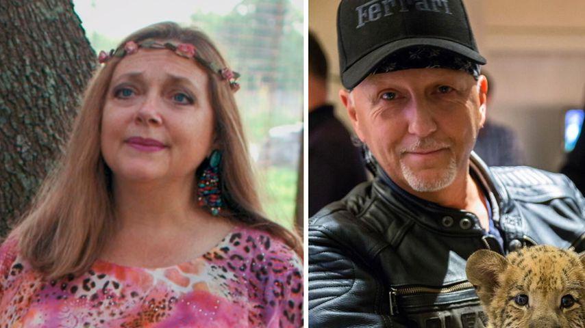 """Spioniert Carole Baskin """"Tiger King""""-Star mit Drohne aus?"""
