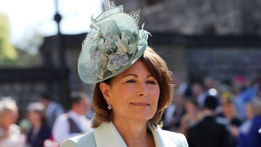 Carole Middleton bei der Hochzeit von Prinz Harry und Herzogin Meghan im Mai 2018