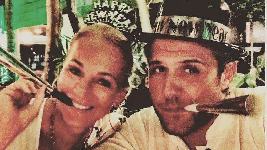 Caroline Beil und Philipp-Marcus Sattler an Silvester in Mexiko