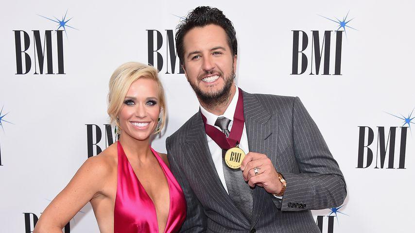 Caroline Boyer und Luke Bryan bei den BMI Country Awards