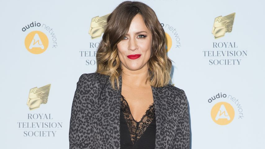 Caroline Flack Ende März 2018 in London