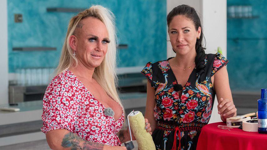 Caroline Robens und Kim Beeker in der ehemaligen Faneteria auf Mallorca