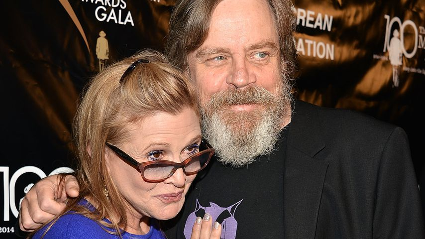 Falsche Infos: Carrie Fisher (✝) kam nie mehr zu Bewusstsein
