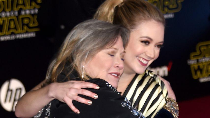 Emoji-Botschaft: Billie Lourd vermisst Mama Carrie Fisher