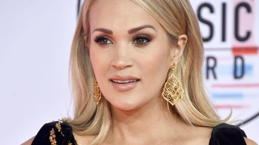 Carrie Underwood fertig: Die Schwangere kann nicht schlafen!