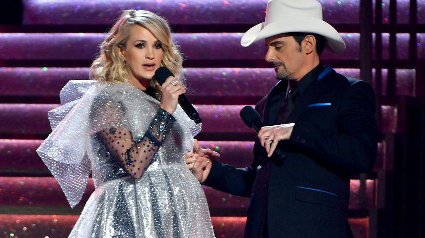Carrie Underwood und Brad Paisley bei den Country Music Awards 2018
