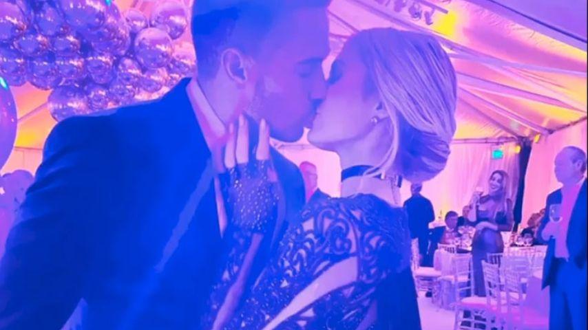 Carter Reum und Paris Hilton auf der Golden Globes Aftershowparty in L.A. im Januar 2020