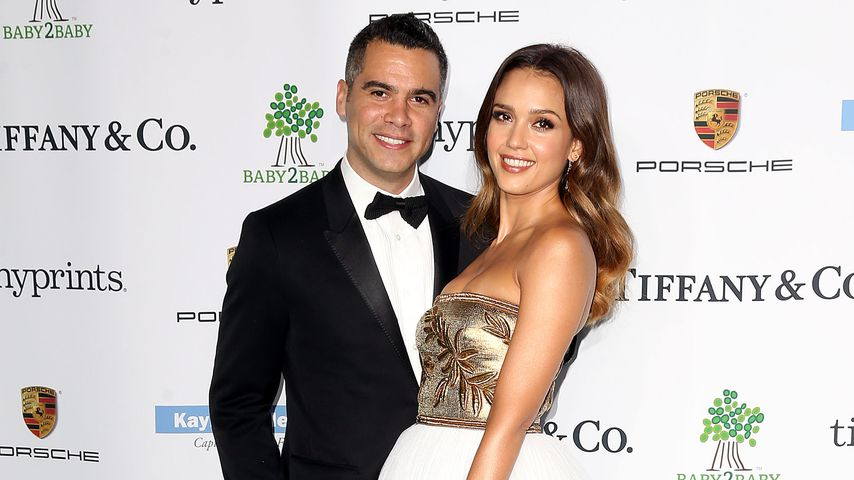 "Cash Warren und Jessica Alba 2014 bei der ""Baby2Baby""-Gala in Culver City"