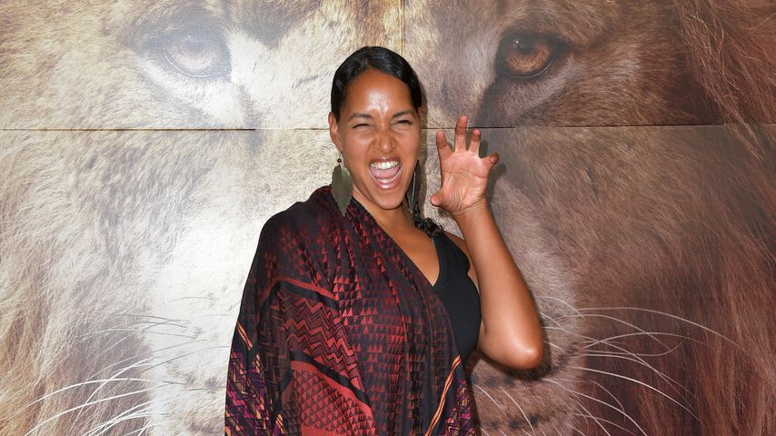 """Cassandra Steen bei einem Screening von """"König der Löwen"""""""