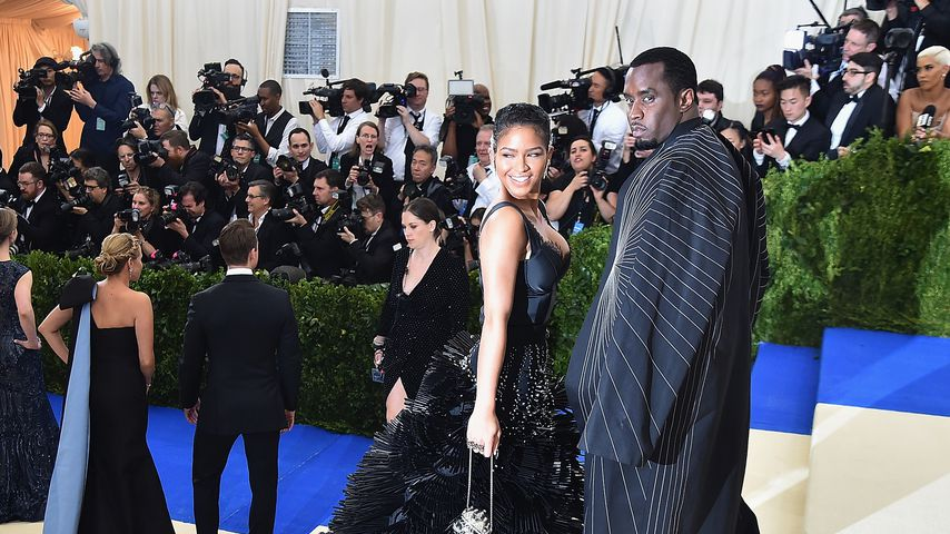 Cassie und P. Diddy bei der Met Gala in New York 2017