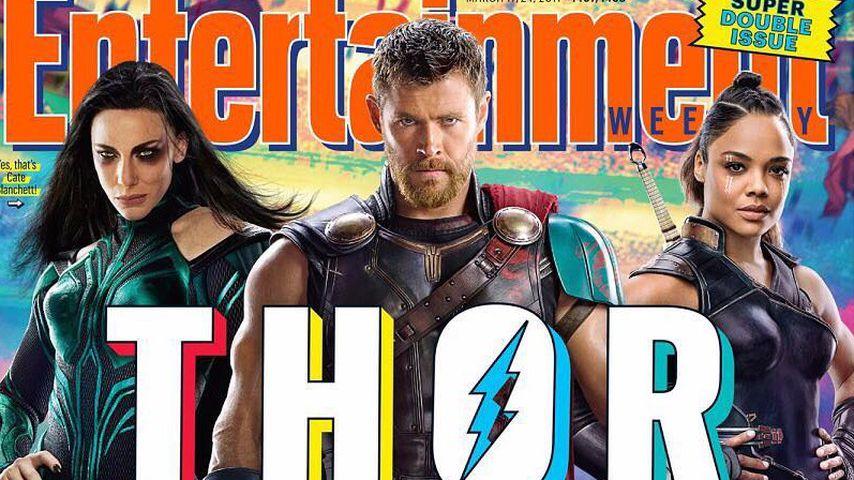 Helden-Umstyling: Chris Hemsworth' Thor hat nun kurze Haare