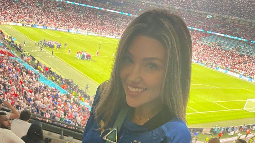Catherine Harding bei der Fußball-Europameisterschaft 2020