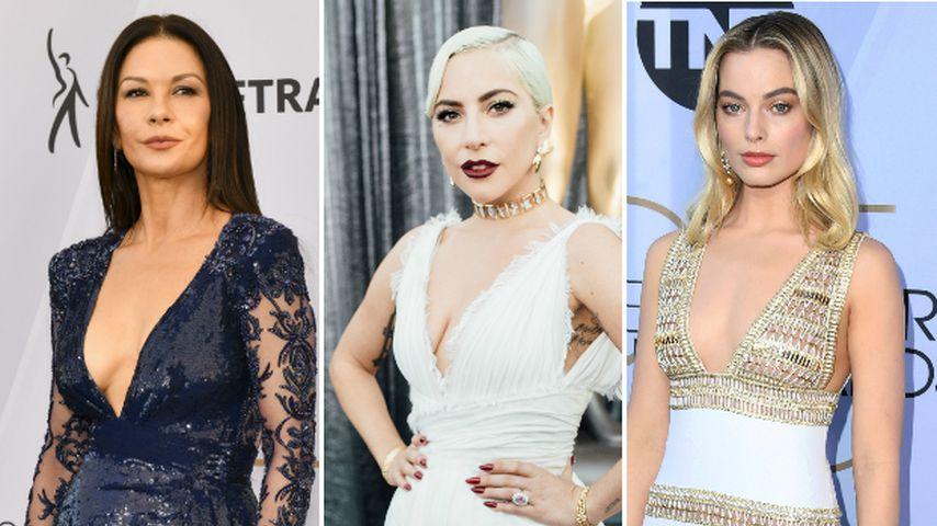Busen-Show: Ladys gewähren bei SAG Awards tiefe Einblicke