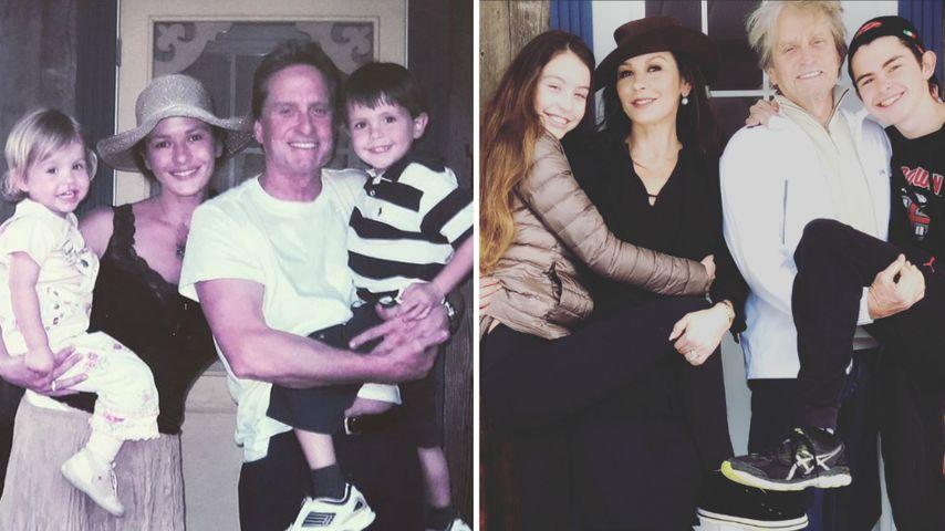 Catherine & Michael: Zwischen diesen Pics liegen 10 Jahre!