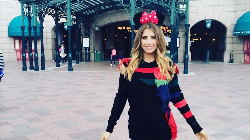 Cathy Hummels Im Disneyland Paris